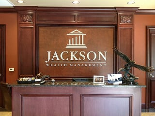 Custom Office Lobby Signs