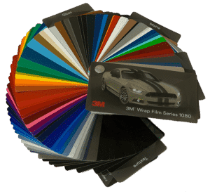 3M Wrap Film Series 1080 color change