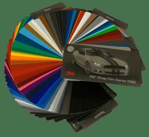 3M Wrap Film Series 1080 color change