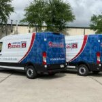 Partial fleet vehicle wrap